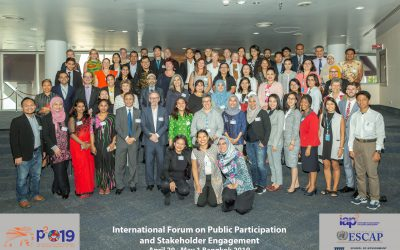 International Forum on Public Participation and Stakeholder Engagement for Sustainable Development Goals Forum Results