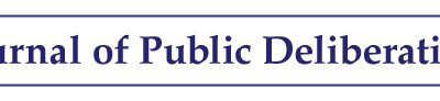Journal of Public Deliberation Out Now