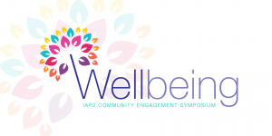 2020 New Zealand symposium. Wellbeing logo