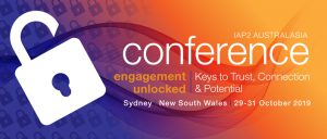 2019 IAP2 Australasia conference banner