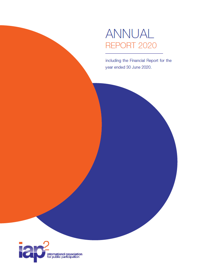 2019 - 2020 Annual Report cover page